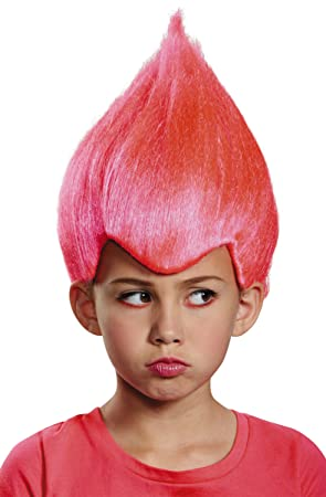 Men s Pink Troll Wacky Wig Child  Amazon.co.uk  Toys   Games f7a33aac3f42