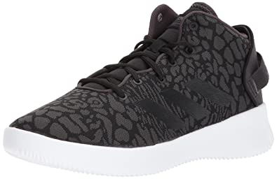 adidas basketball shoes womens. adidas neo women\u0027s cf refresh mid w basketball-shoes, black/black/trace basketball shoes womens