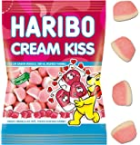 Haribo - Cream Kiss - Caramelos de goma - 80 g