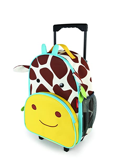 Skip Hop Zoo Luggage - Maleta con ruedas para niños, con ...