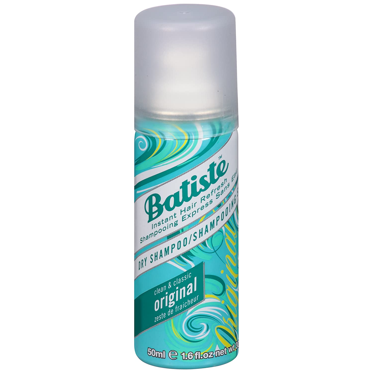 Batiste Dry Shampoo Spray, Original Scent, Mini Size, 50-ml 3459187