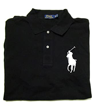 RALPH LAUREN Polo Men\u0027s Big and Tall Big Pony Pique Cotton Polo Shirt  Classic Fit (