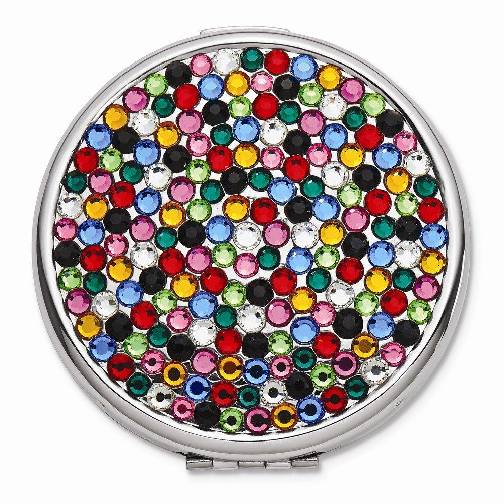 Jewelry Best SellerRainbow Swarovski Elements Compact Mirror