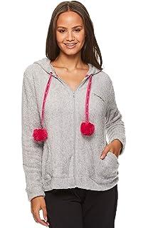 INTERESTPRINT Mens Hoodies Pullover Cute Rabbit Heart Flowers Casual Drawstring Shirts XS-2XL