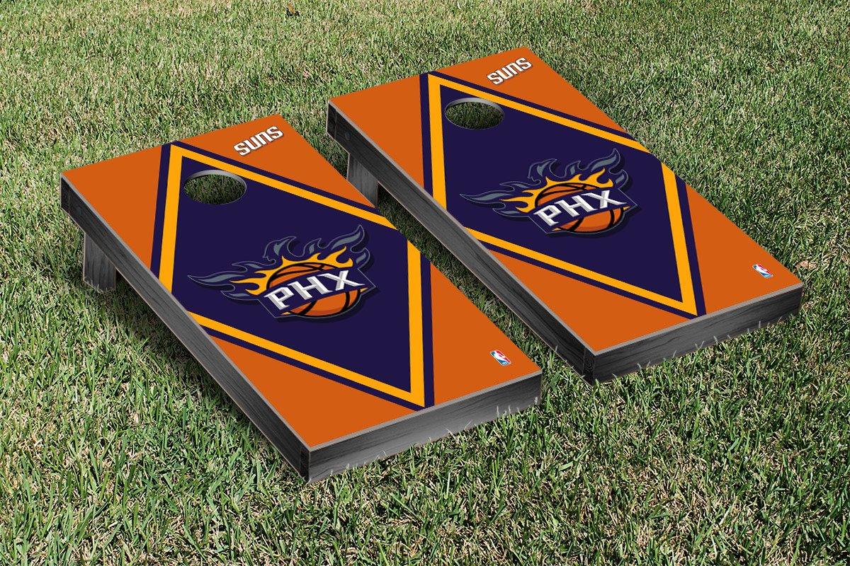 Phoenix Suns NBA Basketball Cornhole Game Set Diamond Version by Victory Tailgate