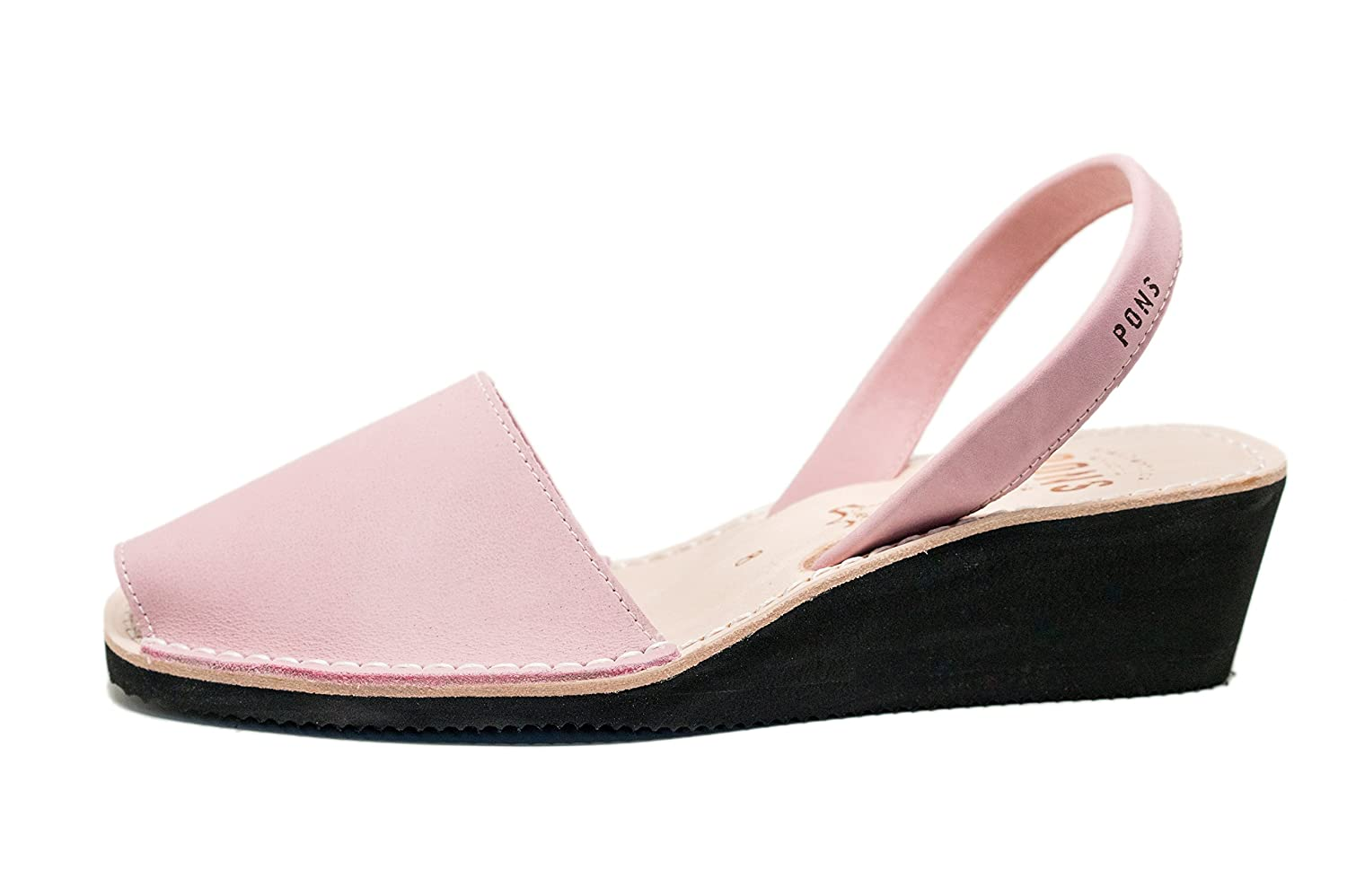 Light Pink Pons 2021 - Avarca Wedge Taupe