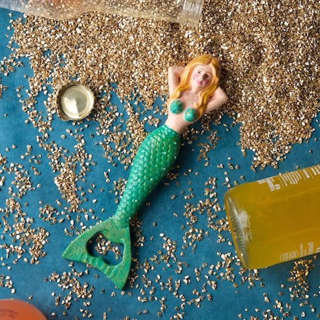 Amazon.com: Glitterville Nautical Imelda the Mermaid Cast Iron ...