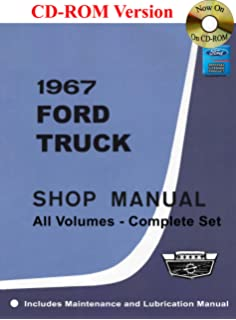 1967 ford truck pickup factory repair shop service 2 book set of 1967 ford truck shop manual fandeluxe Gallery