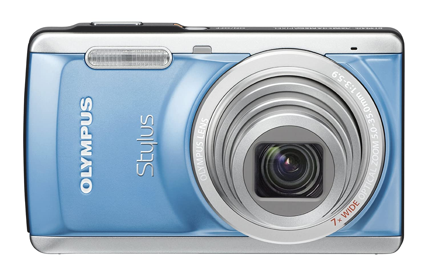 Amazon.com : Olympus Stylus 7040 14 MP Digital Camera with 7x Wide Angle  Dual Image Stabilized Zoom and 3.0 inch LCD (Pink) (Old Model) : Point And  Shoot ...