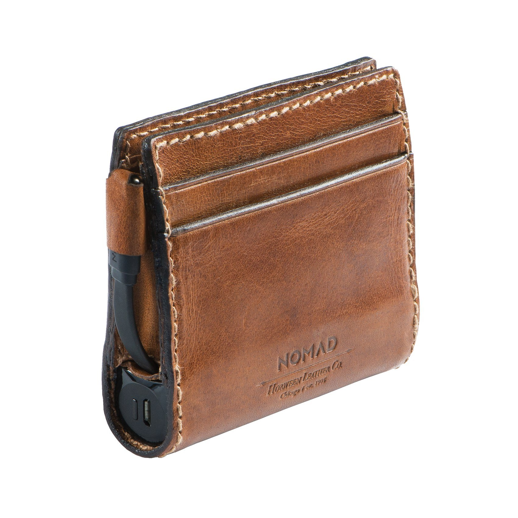 Nomad Slim Horween Leather Charging Wallet for iPhone by Nomad (Image #3)