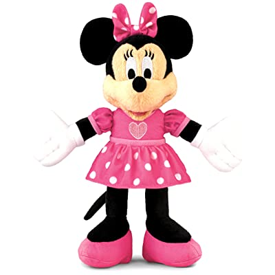 Fisher-Price Disney\'s Minnie Mouse Plush Singer: Toys & Games [5Bkhe1104001]