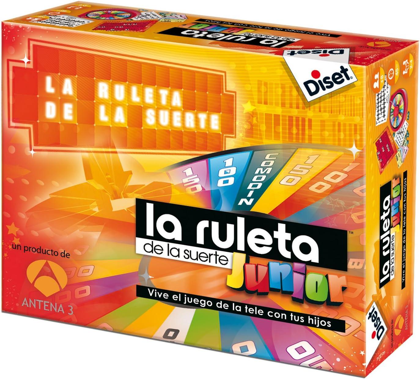 Diset-La Ruleta de la Suerte Junior, única (46204): Amazon.es ...