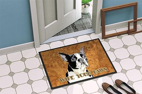 Caroline s Treasures SC9140JMAT Boston Terrier Indoor or Outdoor Mat 24×36 Doormat, 24H X 36W, Multicolor