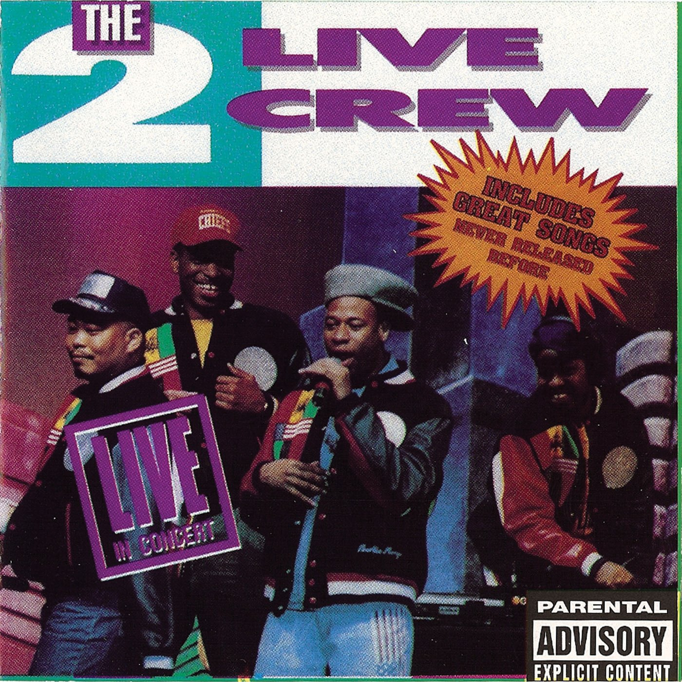 The 2 Live Crew - Live in Concert by Lil Joe Records