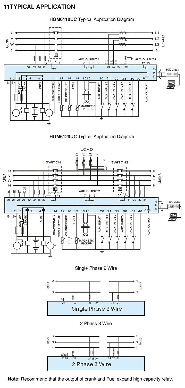 Smartgen Hgm6120u Auto Mains Failure Generator Controller Amf Wiring Panel Ats Industrial Scientific