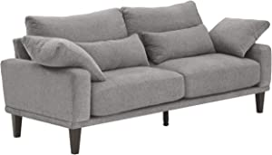 Signature Design by Ashley - Baneway Mid-Centry Sofa, Gray