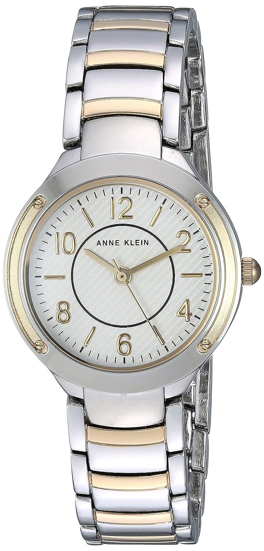 Amazon.com: Anne Klein Womens AK/2887SVTT Two-Tone Bracelet Watch: Watches
