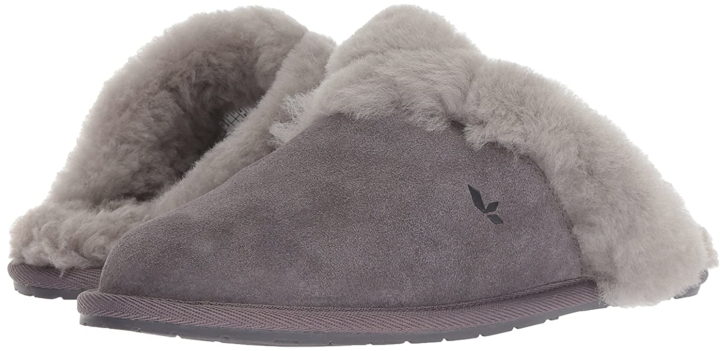 c274d146e04 Koolaburra by UGG Women's Milo Scuff Slipper, Rabbit, 8 M US