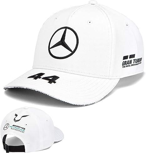 Whybee 2019 Lewis Hamilton F1 Gorra de béisbol Oficial Mercedes ...