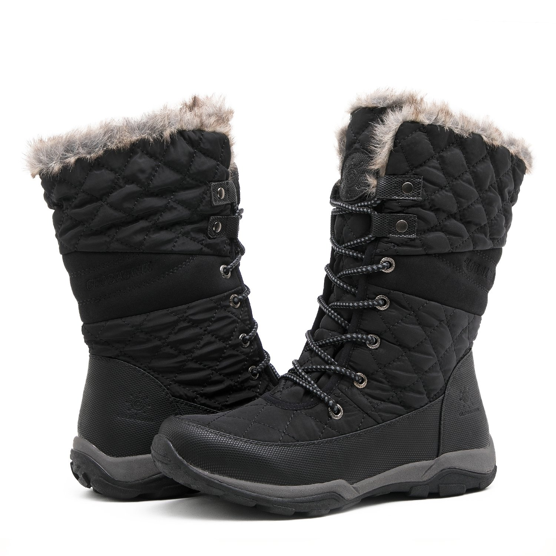 Globalwin Women's Fashion Snow Boots (8.5 D(M) US Women's, 05Black)