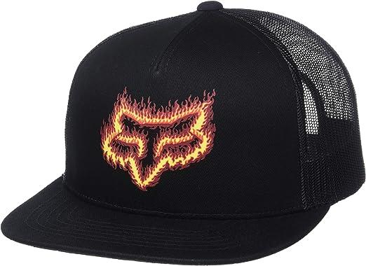 Fox Gorra Snapback Flame Head de Beisbol Baseball (Talla única ...