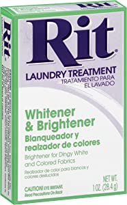 Rit Dyes 1 oz. box fabric whitener powder,1.0 Oz.