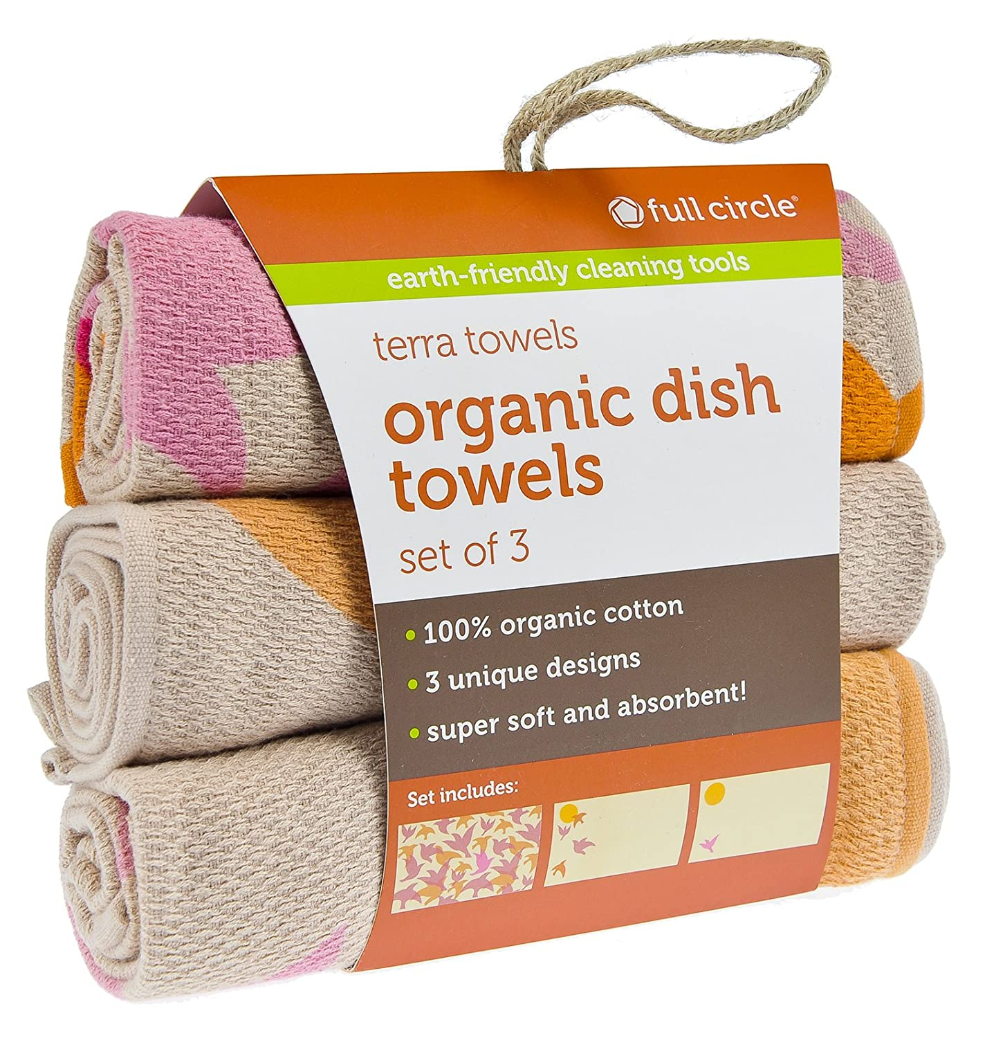 Amazon com: Full Circle Terra Towels Organic Cotton Dish