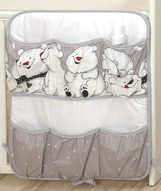 120x60cm, 19 Estrellas grises PRO COSMO 11 Piezas juego de ropa de cama para cuna de beb/é cama edred/ón dosel soporte
