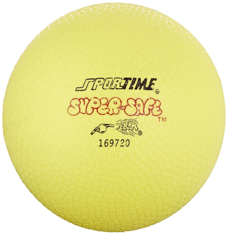 Sportime - Pelota de parque de juegos de caucho, 25,4 cm, color ...