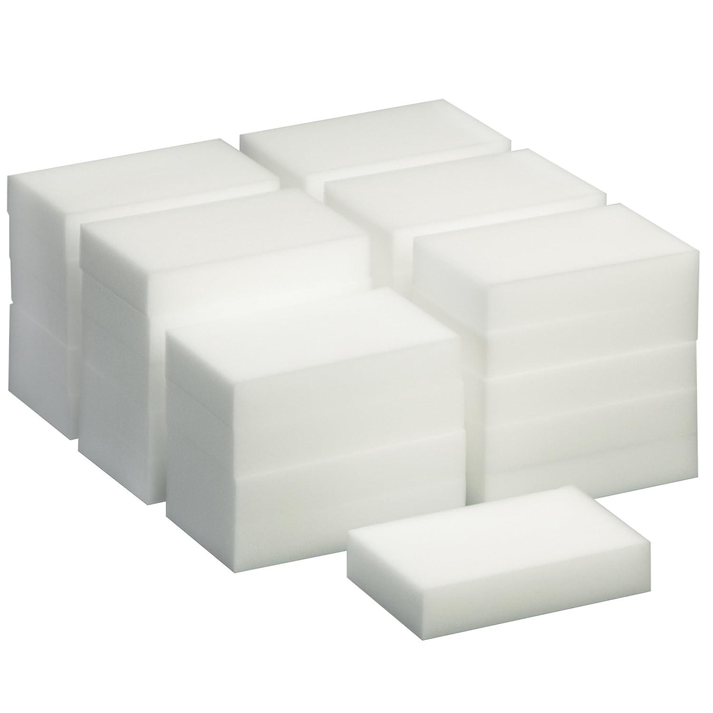 TRIXES 30 Pack de Esponjas Mágicas de Limpieza - Borrador Mágico Almohadilla Quita Manchas - Natural Eco Blanca - Puede ser Cortado a la Medida: Amazon.es: ...