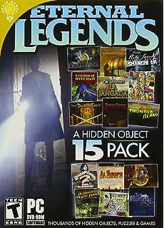 Amazon microsoft home essentials 98 eternal legends a hidden object 15 pack pc dvd rom m4hsunfo