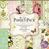 Eno Greeting Designer Paper Pack - Floral