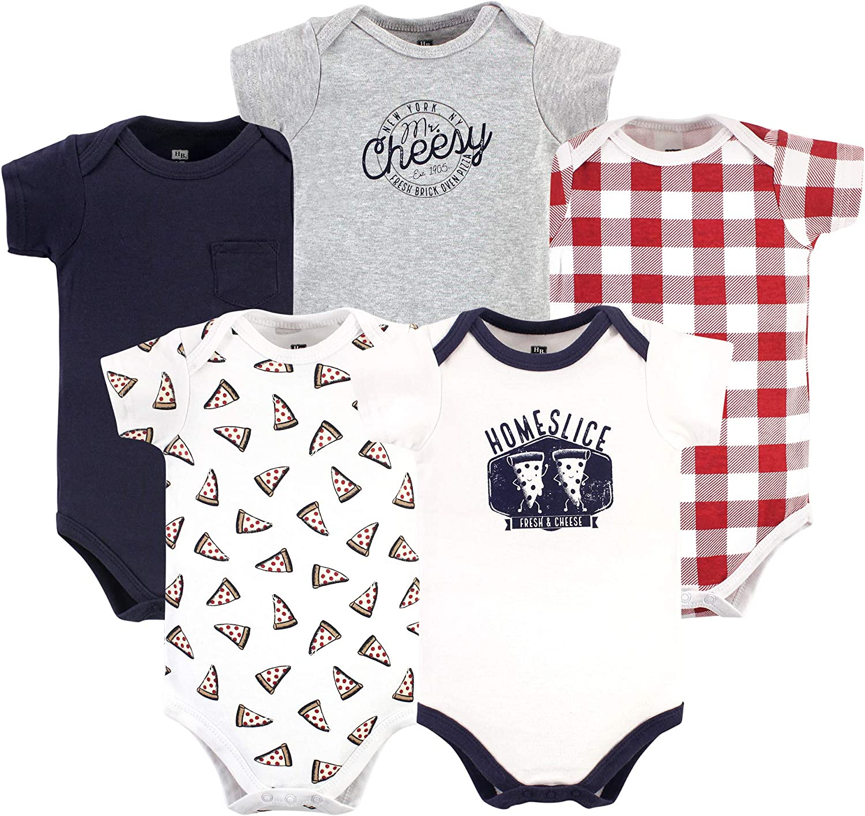 Hudson baby Baby-Girls Unisex Baby Baby and Toddler T-Shirt Set