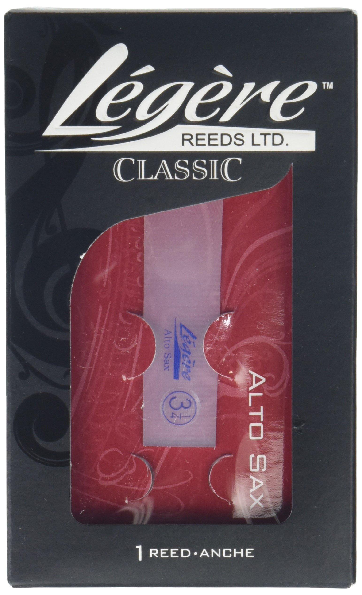 Legere AS3.25 Eb Alto Saxophone Standard Cut No. 3.25 Reed