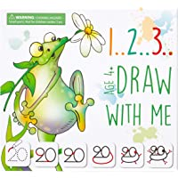 MD CREATIVE 123 Draw with Me Learn How to Draw Animals Step by Step Birthday Present for Preschoolers and Kids Ages 3 4…