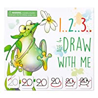 MD CREATIVE 123 Draw with Me Learn How to Draw Animals Step by Step Birthday Present...