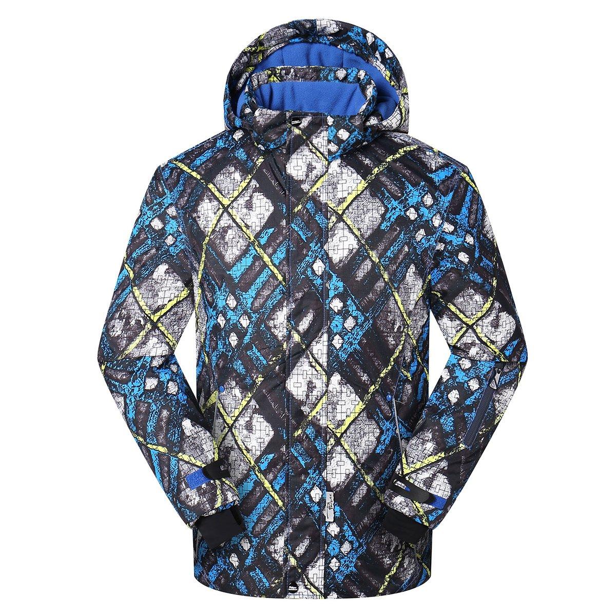PHIBEE Big Boy's Waterproof Breathable Snowboard Ski Jacket Kangya