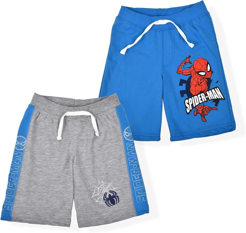 Marvel Spider-Man Boy's 2-Pack Casual Short Set