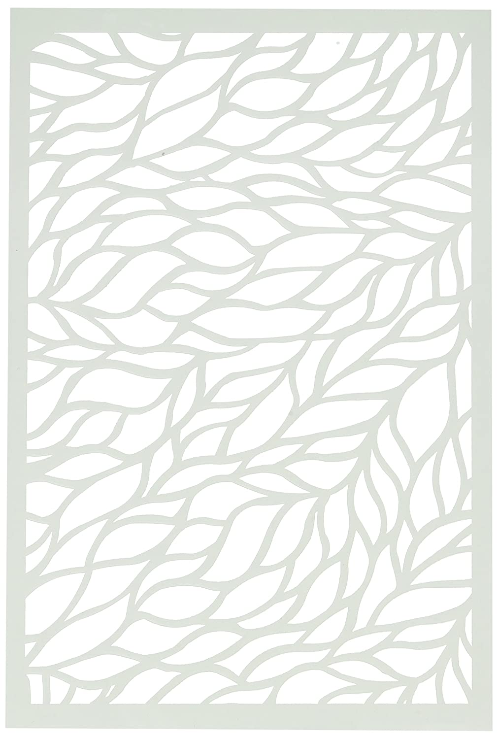 Ranger MDS54467 Dina Wakley Media Stencils 9X6-Viney