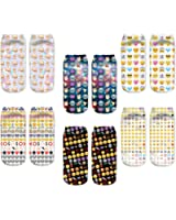 Women Girls 3d Funny Animals Ankle Fun Cat Novelty Socks At Amazon
