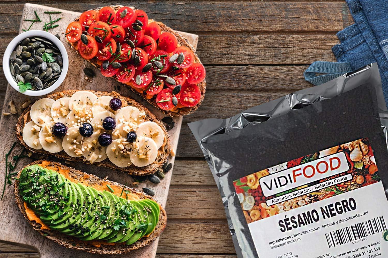 Semillas De Sésamo Negro - 3kg - Condimento Con Sabor A Nueces Para Platos Cetogénicos Y Veganos - Semillas Crujientes Y Sabrosas: Amazon.es: Alimentación y bebidas
