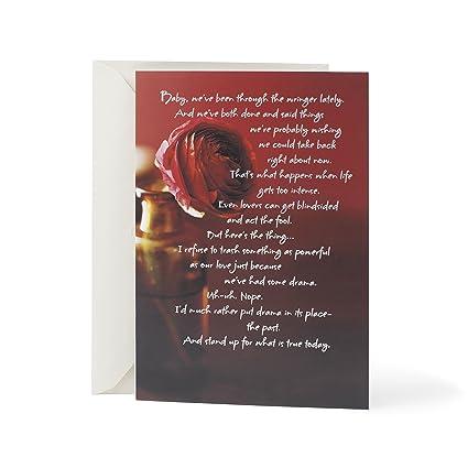 Amazon hallmark mahogany love greeting card im sorry hallmark mahogany love greeting card im sorry m4hsunfo