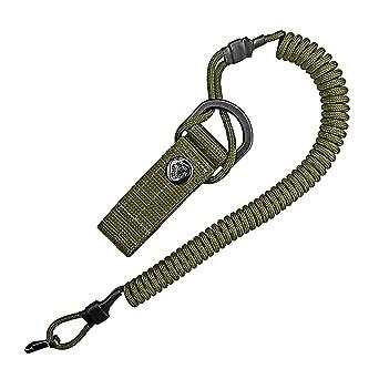 Cable en espiral, llavero elástico de Paracord, cordón ...
