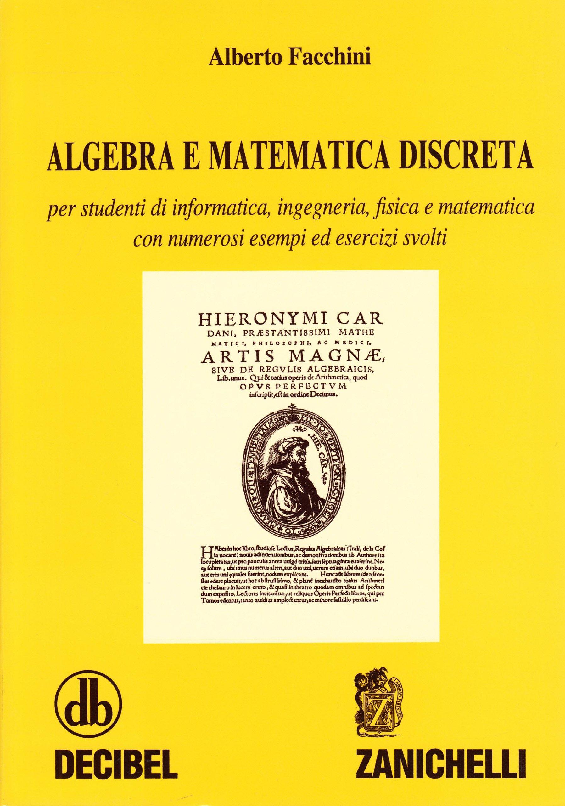 Algebra e matematica discreta facchini