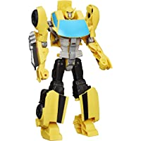 Transformers Toys Heroic Bumblebee Action Figure - Timeless Large-Scale Figure, Changes into Yellow Toy Car - Toys for…