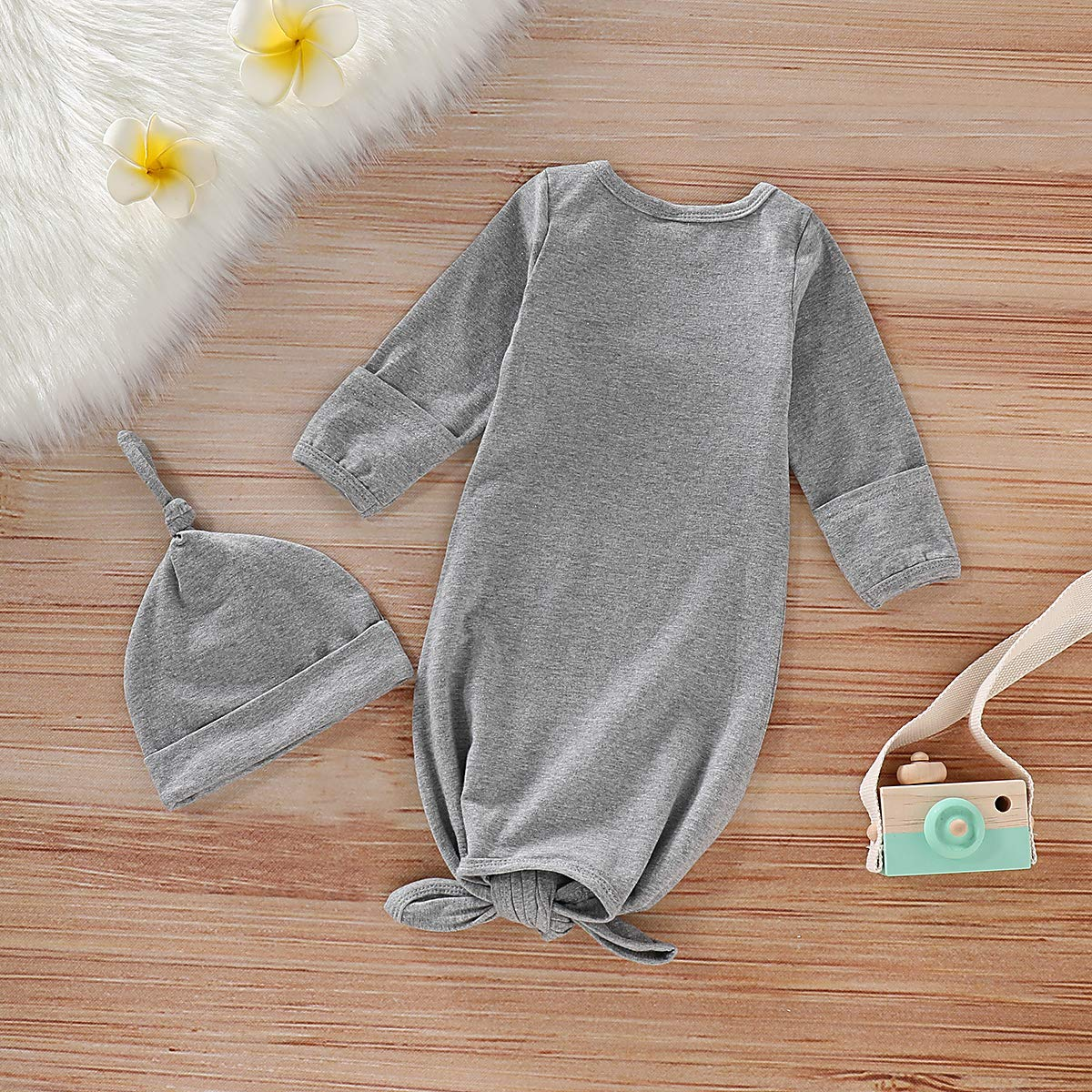 Infant Baby Boy Girl Animal Clothes Elephant Sleeper Gown Outfits Floral Sleepwear Romper Newborn Cute Nightgowns