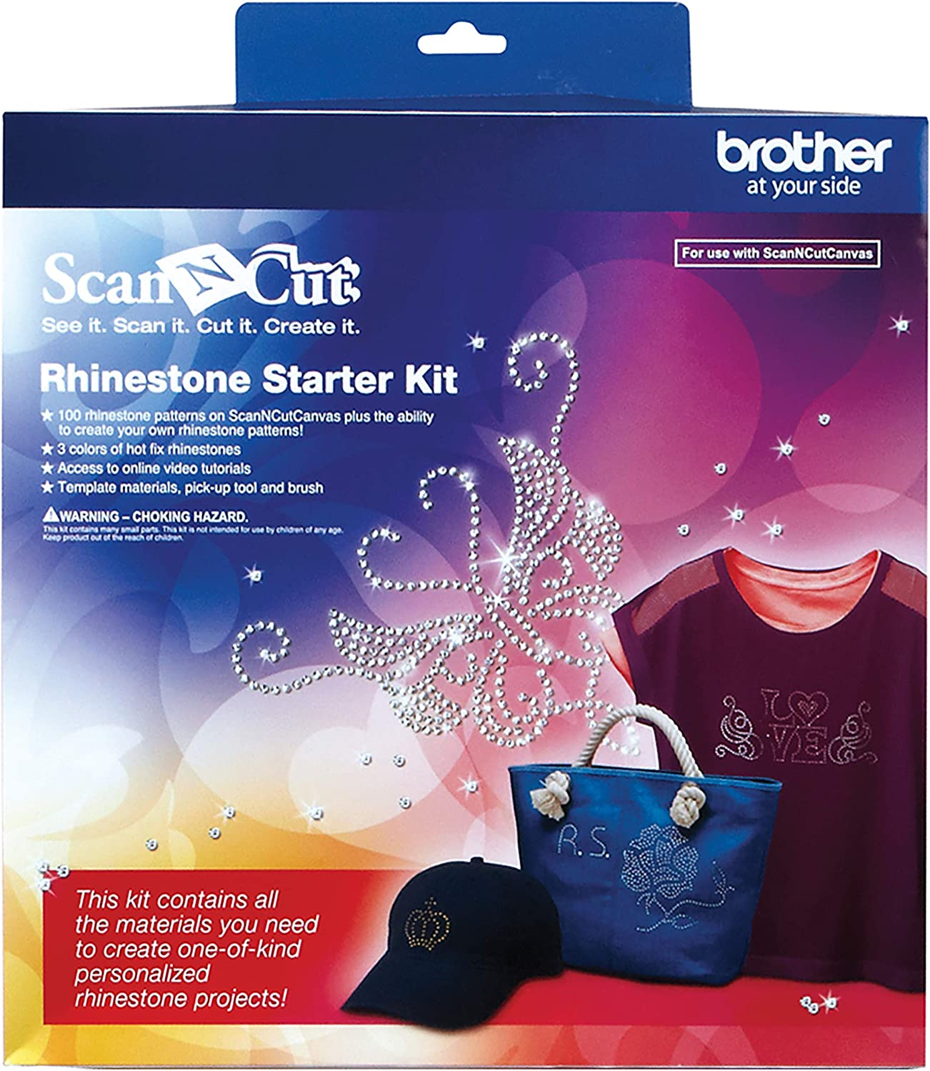 Brother ScanNCut CARSKIT1 Rhinestone Starter Kit by Brother: Amazon.es: Hogar