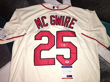 official photos 9f520 57298 Mark McGwire Signed Jersey - All Star Gold Glove - PSA/DNA ...