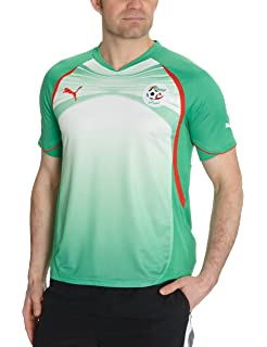 291089a4497 adidas Algeria Men's Home Football Shirt 2016-2017: Amazon.co.uk ...