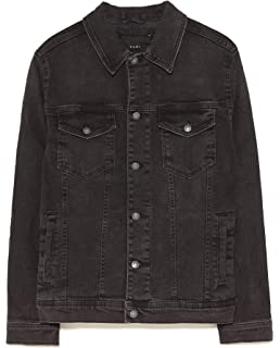 co Contrasting 8178305 Men's Jacket uk BrownAmazon Zara Biker GjqzpLMSUV